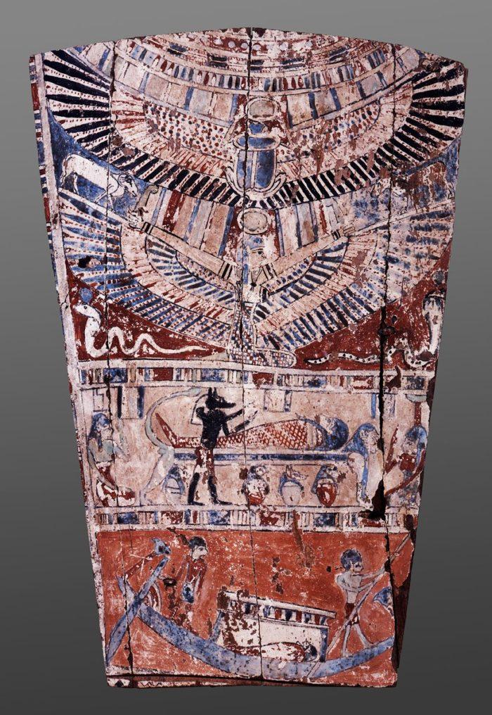 Anubis and mummification