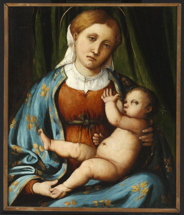 Girolamo Romanino: Virgin and Child