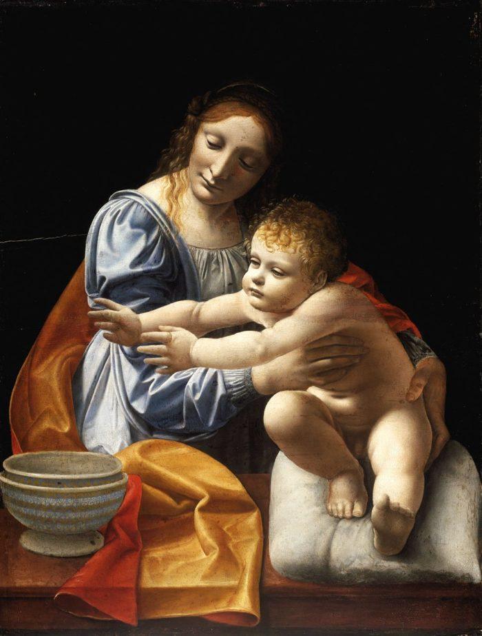 Giovanni Antonio Boltraffio: Madonna and Child