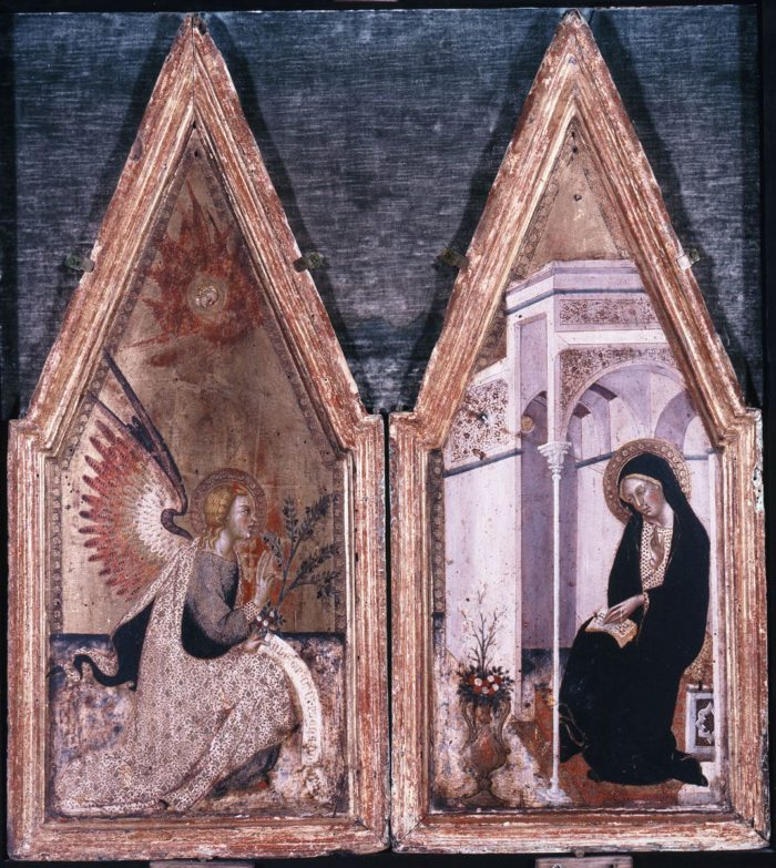 Bartolo di Fredi: The Annunciation