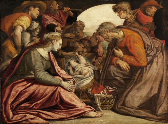 Anthonie Blocklandt: Adoration of the Shepherds