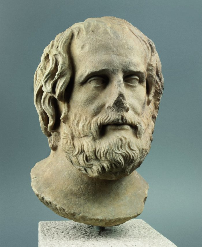 Portrait of Euripides