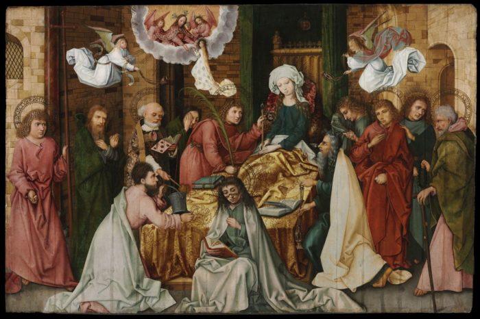 Hans Holbein the Elder: Death of the Virgin