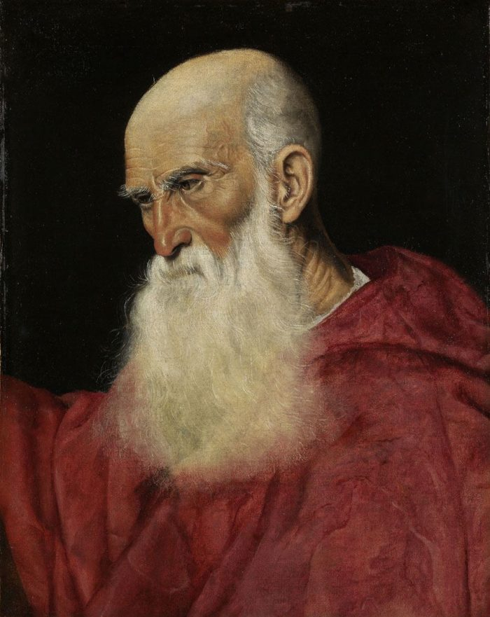 Jacopo Bassano: Portrait of a Cardinal