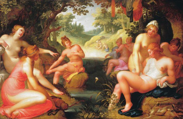 Abraham Janssens: Diana Discovering Callisto's Pregnancy