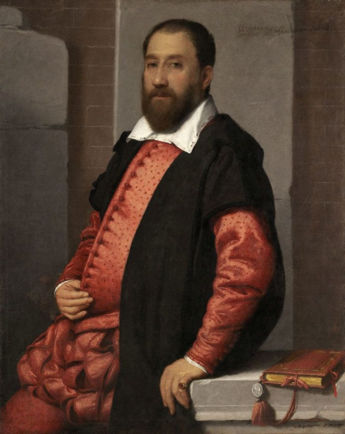 Giovanni Battista Moroni: Portrait of Jacopo Foscarini (?)