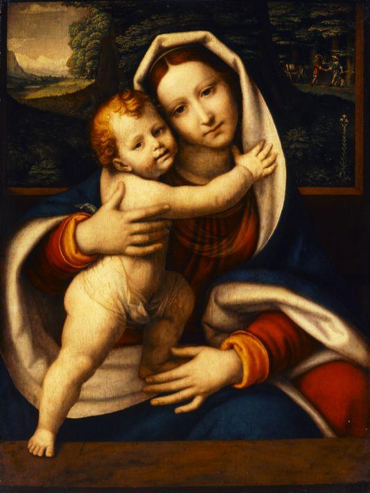 Andrea Solario: Virgin and Child