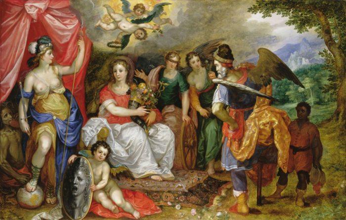 Jan Brueghel the Elder: The Allegory of Abundance