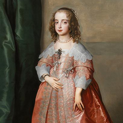 Van Dyck: Princess Mary Henrietta Stuart