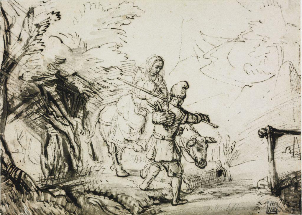 Samuel van HoogstraetenDate:pen178x247mm
