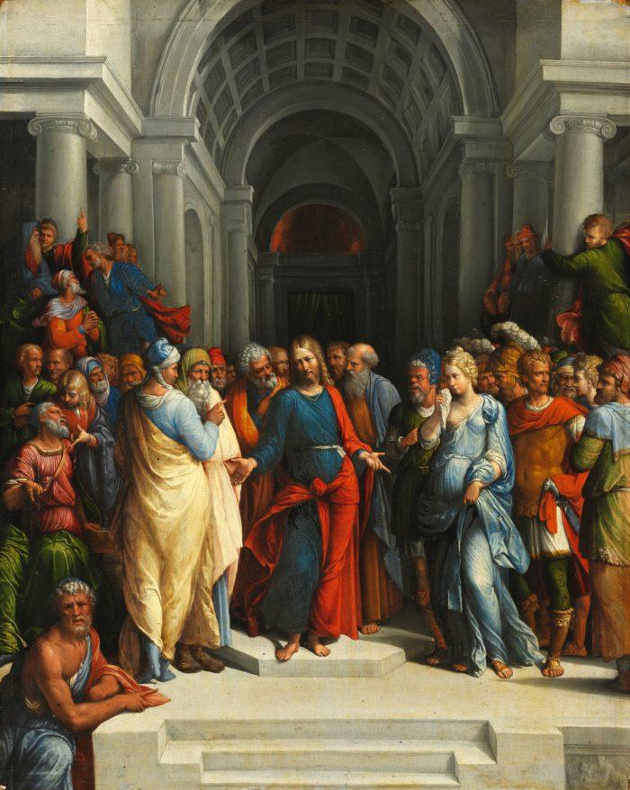 Garofalo: Christ and the Adulteress