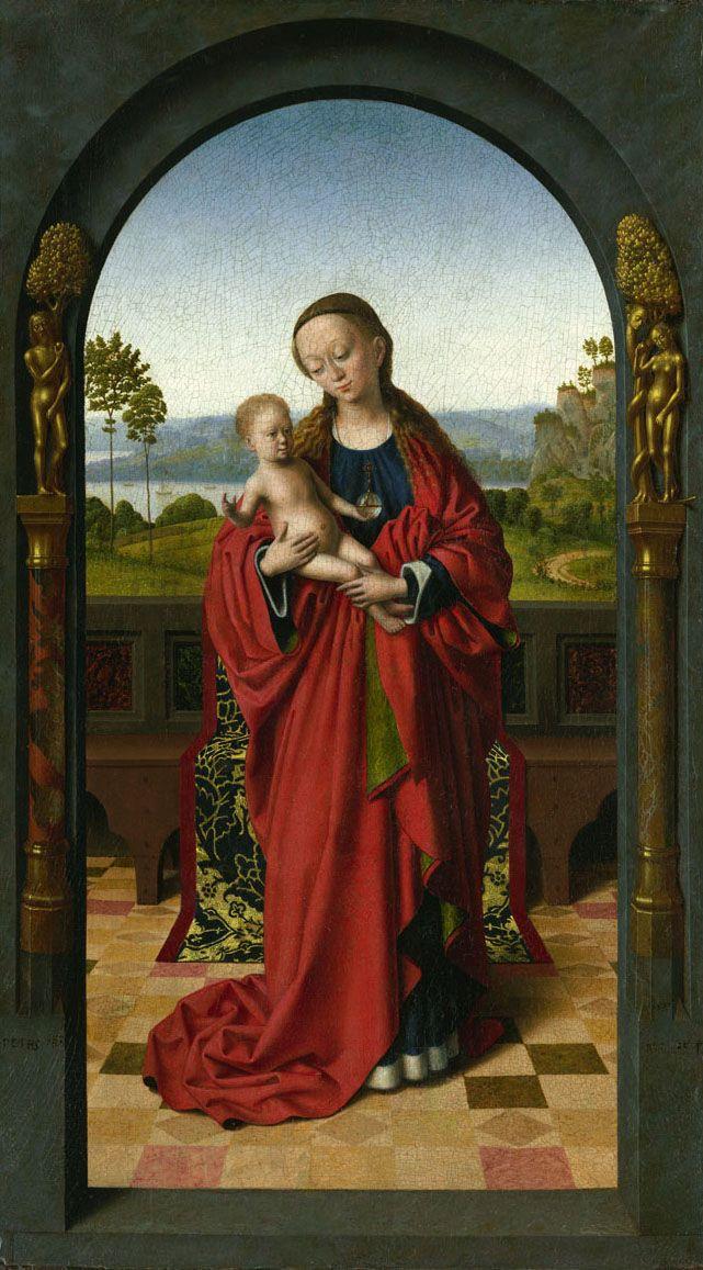 Petrus Christus: Virgin and Child under an Arch