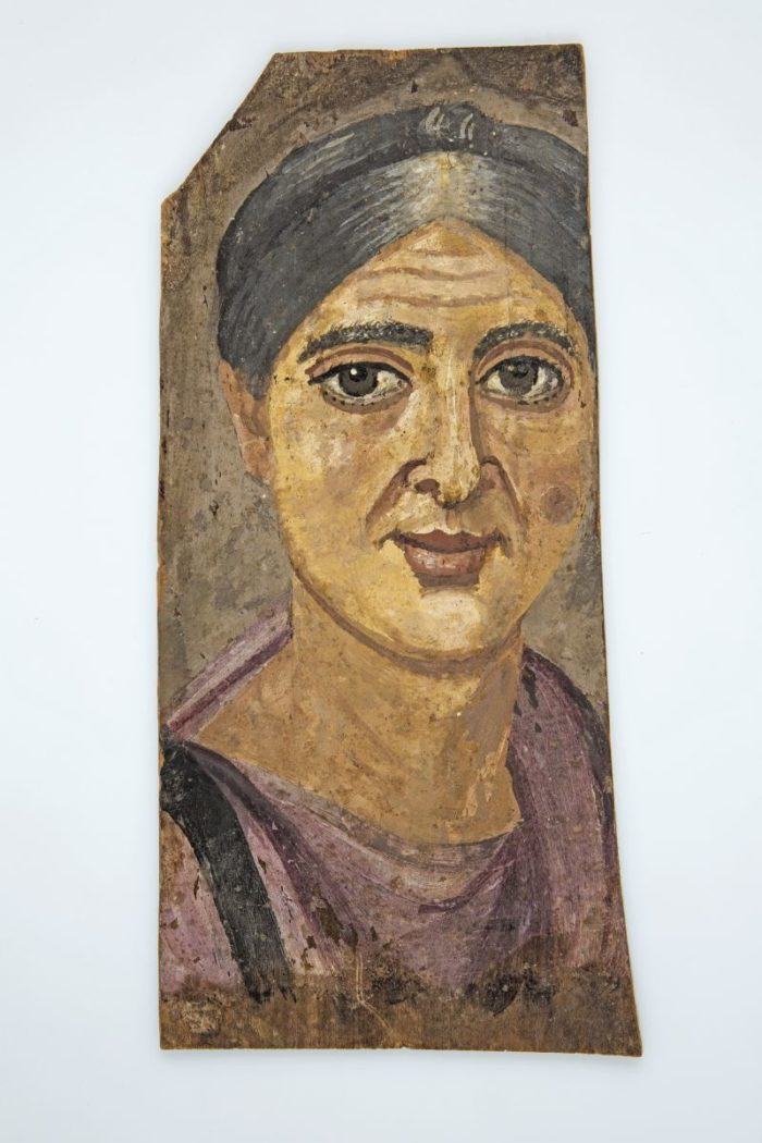 Painted portraits from Egypt
