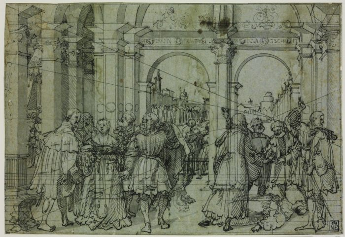 Jörg Breu the Elder: The Story of Lucretia , c. 1528