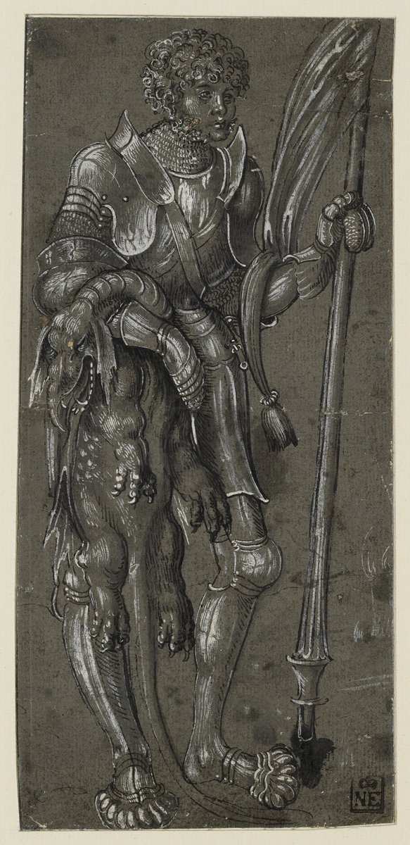 Lucas Cranach the Elder: Saint George, c. 1506