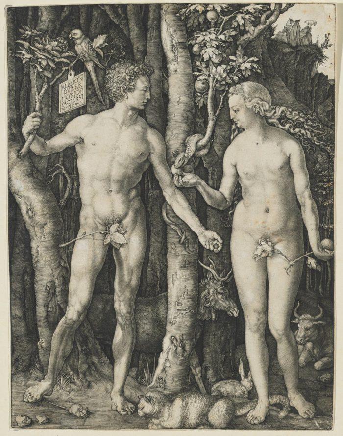 Albrecht Dürer: Adam and Eve,1504